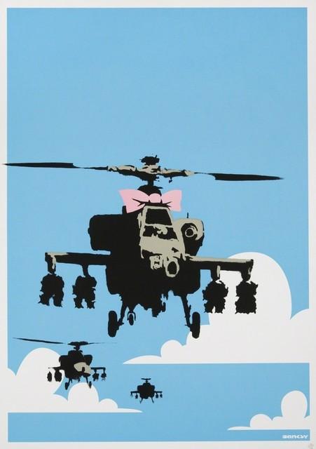 Banksy, 'Happy Choppers', 2003, Taglialatella Galleries
