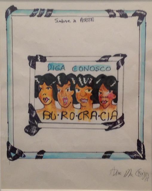 , 'Burocracia,' , Galeria Murilo Castro