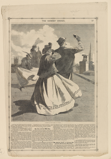 , 'Looking at the Eclipse (After Winslow Homer),' 1865, Clark Art Institute