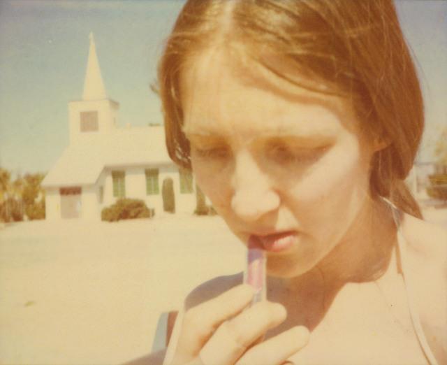 Stefanie Schneider, 'Lipstick (Sidewinder) ', 2005, Photography, Digital C-Print based on a Polaroid, not mounted, Instantdreams