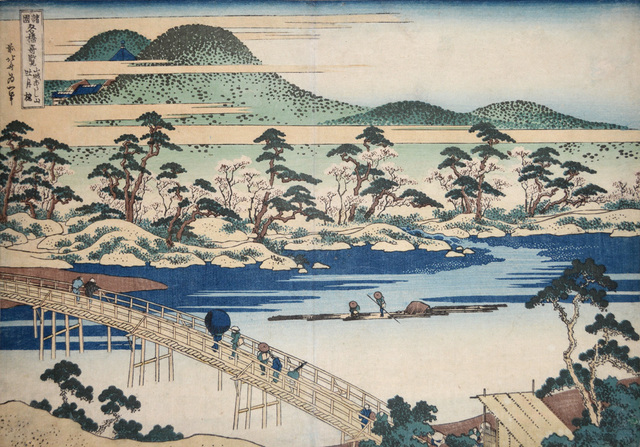 , 'Togetsu Bridge at Arashiyama in Yamashiro,' ca. 1834, Ronin Gallery