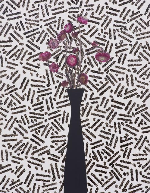 Jen Mazza, 'Pink Strawflowers/Security Pattern', 2015, Tibor de Nagy