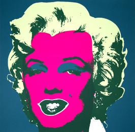 Marilyn Monroe, Pink Version, printed by Sunday b. Morning