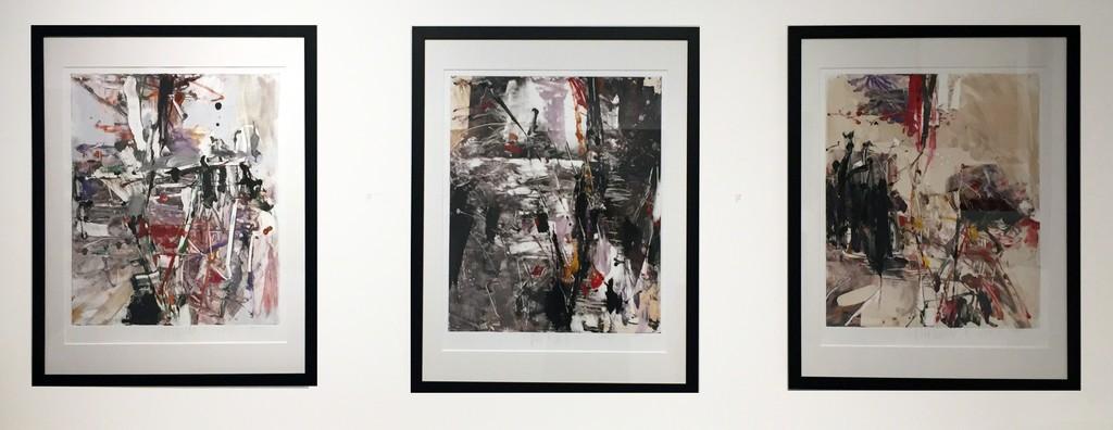 Tom Lieber, Untitled Triptych, monotypes