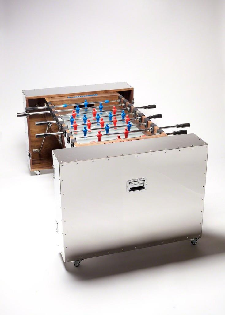 Naihan Li, 'Expandable Crates Foosball Table   CRATES Series, 2014,' 2014, Gallery ALL