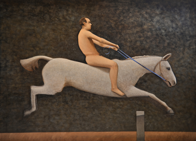 , 'Pandora Jumping a Hurdle,' 2013, Cade Tompkins Projects