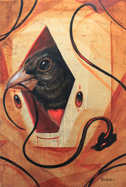 Greg 'Craola' Simkins, 'Roost', 2015, KP Projects
