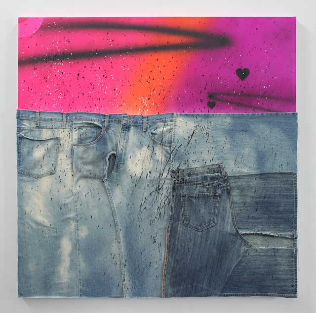 , 'American Dirt Effect 3,' 2017, Johannes Vogt Gallery