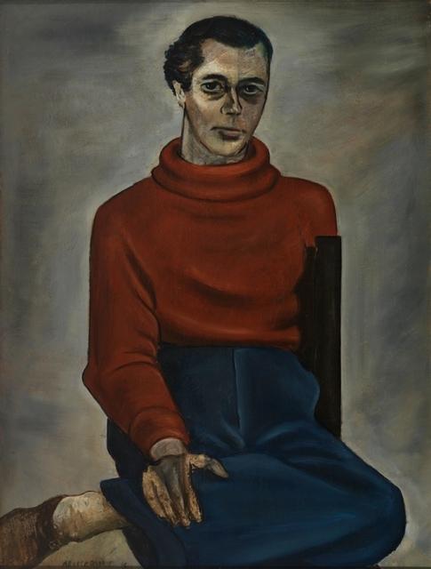 , 'Portrait of Eddie Millman,' 1936, Richard Norton Gallery