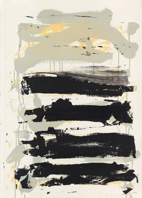 , 'Champs - Black, Gray and Yellow,' 1991, F.L. Braswell Fine Art