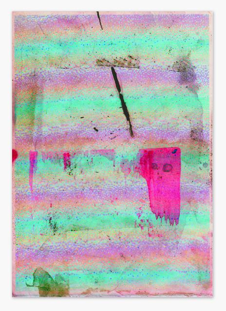 , 'Total Awareness Zero,' 2015, Evelyn Yard