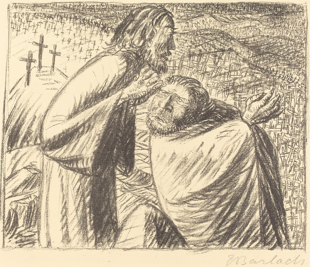Ernst Barlach, 'Anno Domini MCMXVI Post Christum Natum', 1916, National Gallery of Art, Washington, D.C.