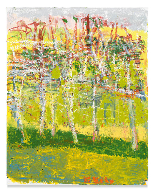 Wolf Kahn, 'White Web', Miles McEnery Gallery