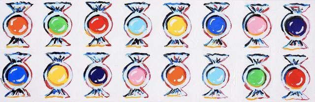Leslie Hackard, 'Sixteen Colorful Candies', Tim Collom Gallery