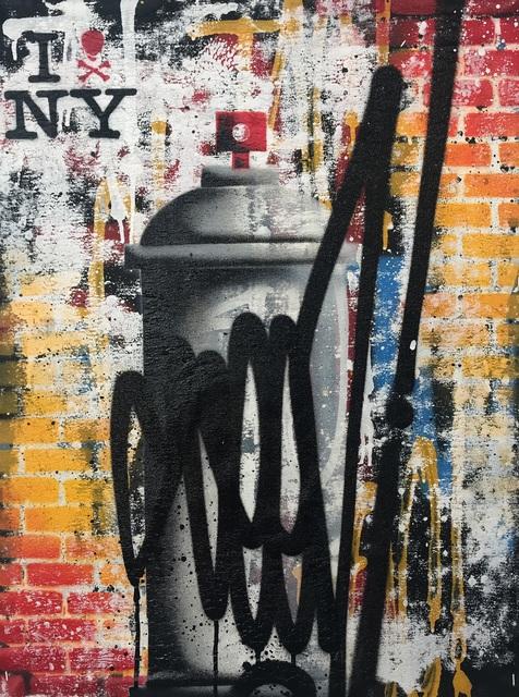 SEEN, 'Spraycan series RAW tag ', 2019, Kunsthuis Amsterdam