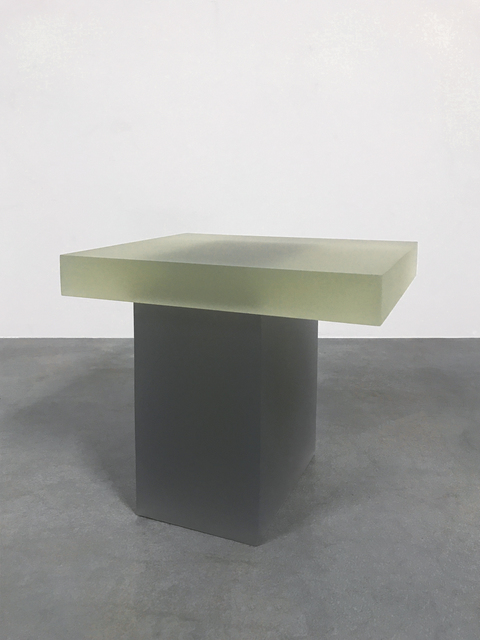 , 'Haze Stool (Yellow and Dark Grey),' 2015, Carpenters Workshop Gallery