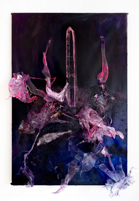 , 'Painting #09 from purple series,' 2018, Anna Nova Gallery