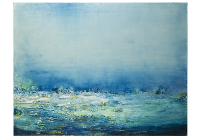 Anne Hefer, 'Ereignis (Space)', 1999, Painting, Oil on Canvas, Alessandro Berni Gallery