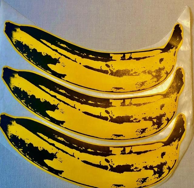 Andy Warhol, 'A Set of Unpeeled Banana Stickers', 1967, Ephemera or Merchandise, Sticker on paper, Bengtsson Fine Art