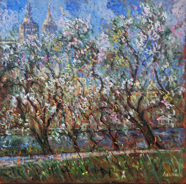 , 'Central Park in Bloom,' 2016, Hazelton Fine Art Galleries