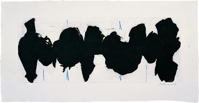 , 'Running Elegy II, Blue State,' 1983, Bernard Jacobson Gallery