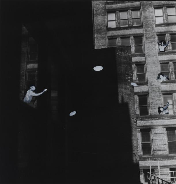 , 'Penthouse Frisbee,' 1977, Magenta Plains