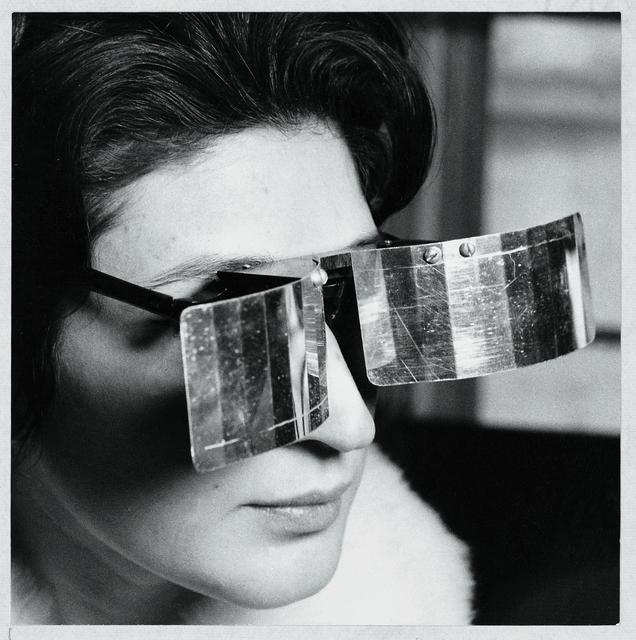 , 'Martha Le Parc with Lunettes pour une vision autre (Eyeglasses for Another Vision),' 1965, Pérez Art Museum Miami (PAMM)