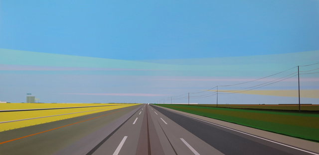 , 'I-10 Near Houston,' 2015, Octavia Art Gallery