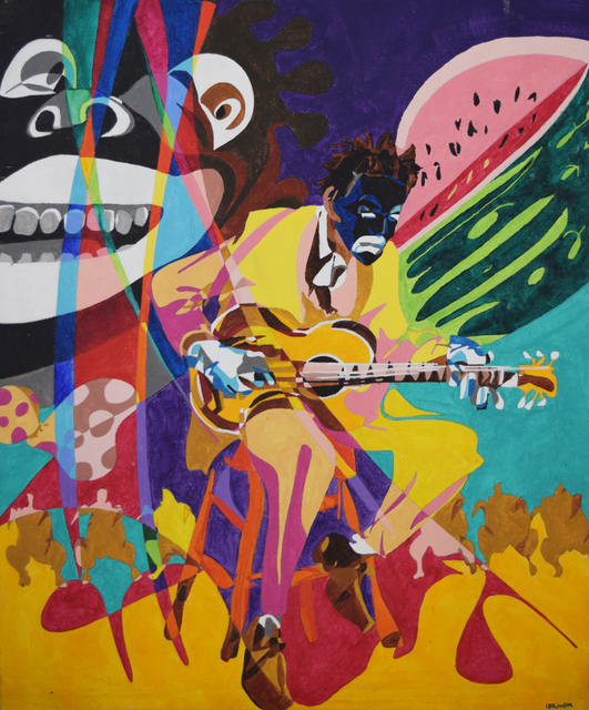 , 'The Minstrel,' 2001, Fountain House Gallery
