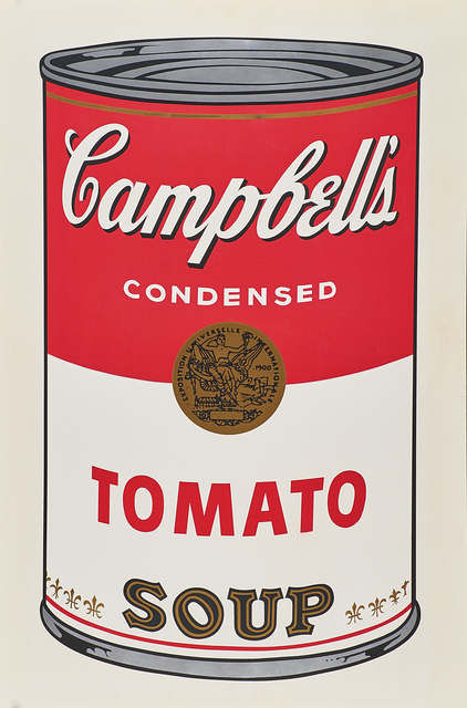 Andy Warhol, 'Campbell's Tomato Soup', 1968, Rago/Wright