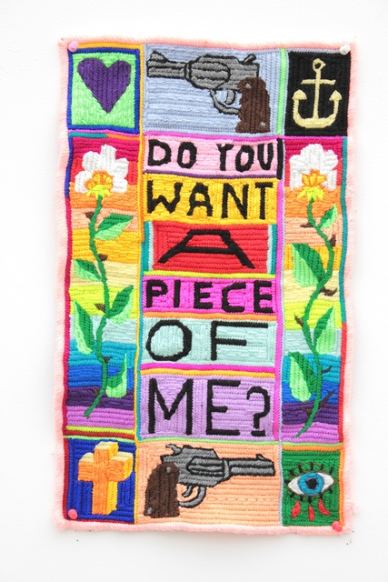 , 'Do You Want A Piece Of Me,' 2017, Stems Gallery