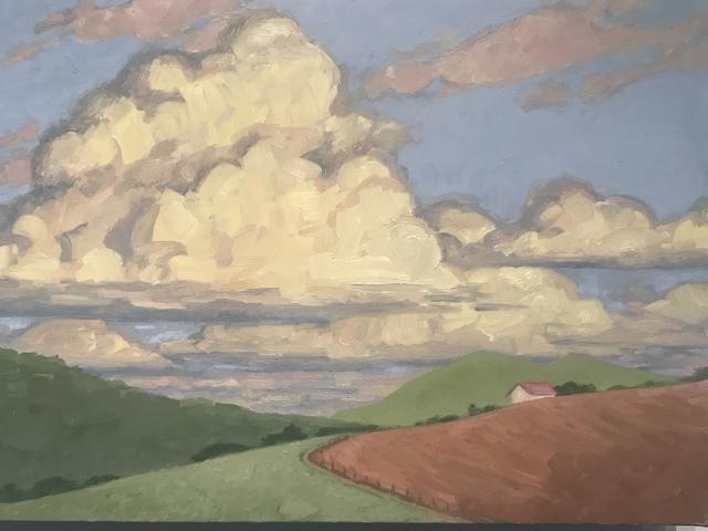 KK Kozik, 'Late Afternoon', 2019, Painting, Oil on linen, Bernay Fine Art