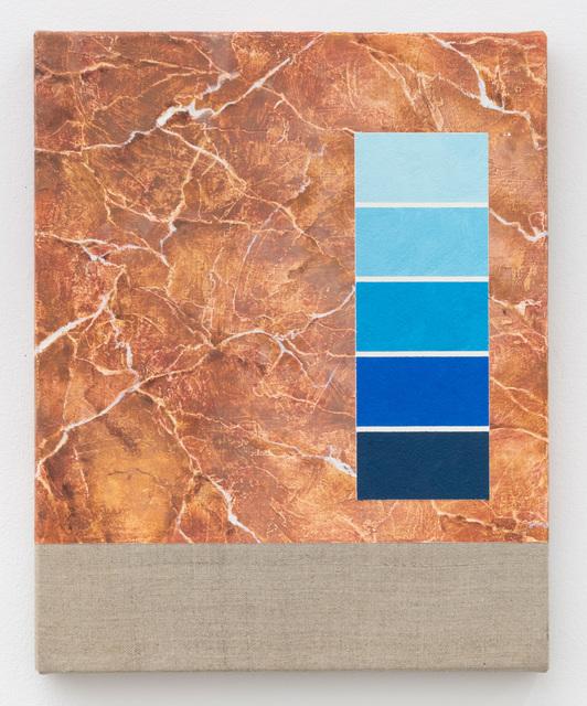 , 'Test Swatch (Sanguine),' 2018, High Noon Gallery