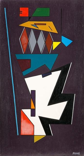 Atanasio Soldati, 'Equilibrio', 1950, Finarte
