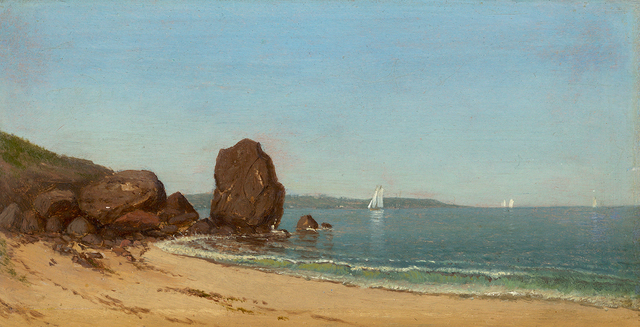 , 'Half Moon Cove, Gloucester Bay,' 1871, Questroyal Fine Art