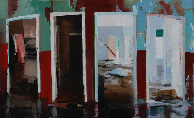 , 'Four Doors,' 2012, Barbara Frigerio Contemporary