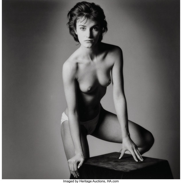 Jeanloup Sieff, 'Untitled (Front Facing Nude)', 1985, Heritage Auctions