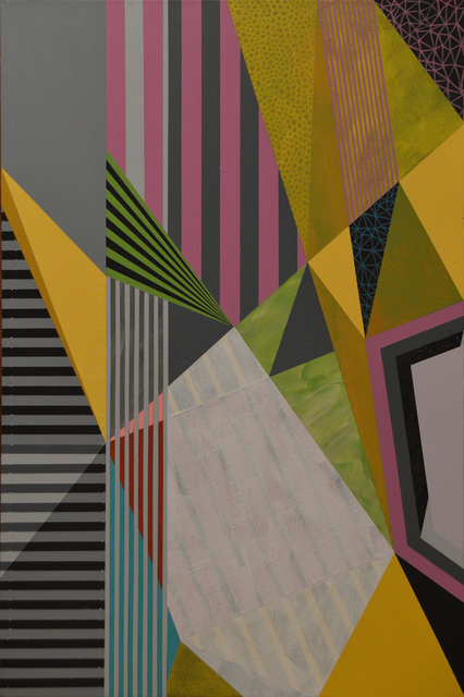 , 'Untitled (pinstripe),' , The Bonfoey Gallery