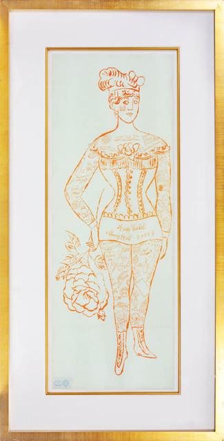 , 'Andy Warhol, Tattooed Woman Holding Rose, 1955,' 1955, Shapero Modern