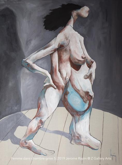 Jerome Rapin, 'Femme dans chambre grise 5', 2019, Z Gallery Arts