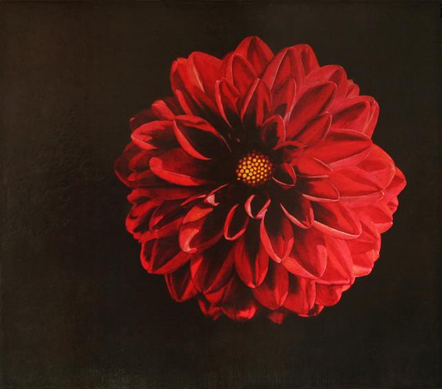 , 'Red Dahlia,' 2017, Bill Lowe Gallery