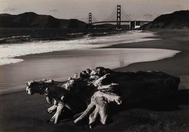 , 'Log and Golden Gate Bridge, San Francisco,' 1952, Seagrave Gallery
