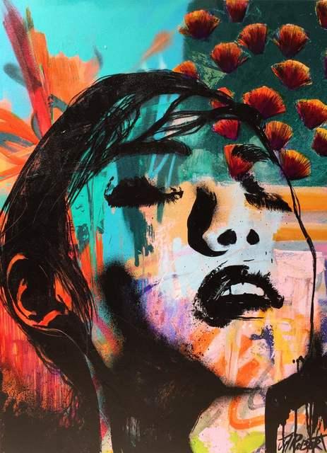 JM Robert, 'Elle attendait ce moment avec impatience', 2015, Painting, Art Supermarket