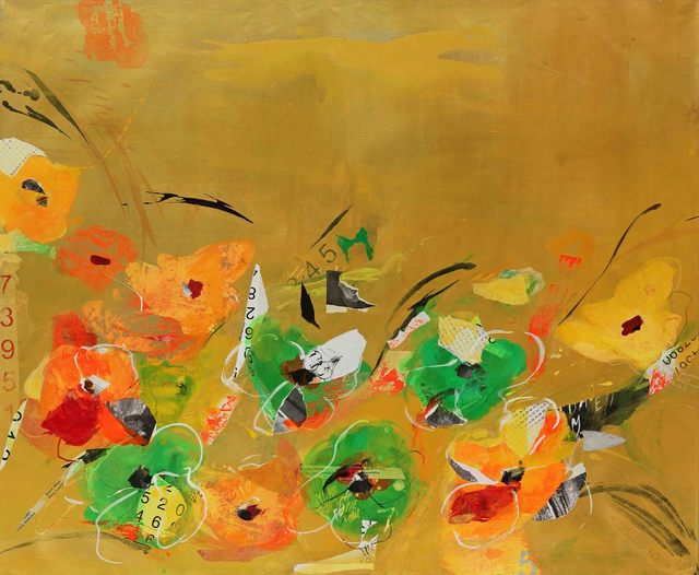 , 'Golden Tulips,' 2016, Caldwell Snyder Gallery