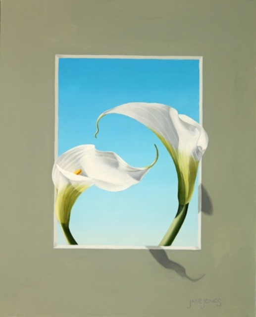 ", '""Calla Lily Trompe L'Oeil  IV"",' 2016, Bonner David Galleries"
