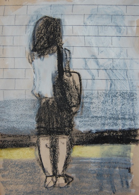Patrick Jewell, 'White Top and Black Skirt (Platform)', 2017, Ground Floor Gallery