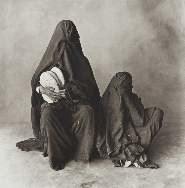 Irving Penn, 'Two Women in Black with Bread, Morocco', 1971-printed 1986, Phillips