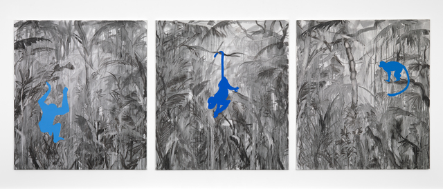 , 'Jungle blues,' 2017, Gallery Baton