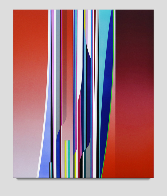 Dion Johnson, 'Tightrope', 2019, Painting, Acrylic on canvas, Contemporary Art Matters