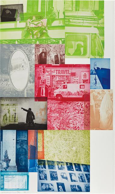 Robert Rauschenberg, 'Soviet American Array VI', 1989-90, Phillips